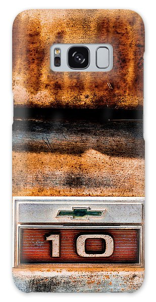 Chevy C10 Rusted Emblem Galaxy Case