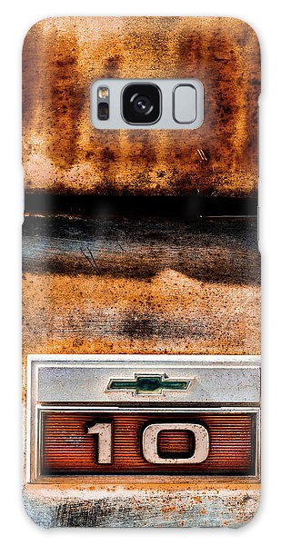 Chevy C10 Rusted Emblem Galaxy Case