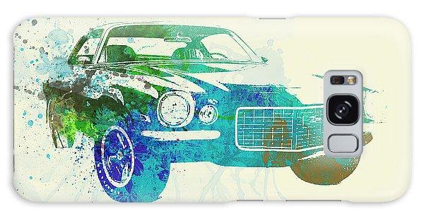 Automobile Galaxy Case - Chevy Camaro Watercolor by Naxart Studio