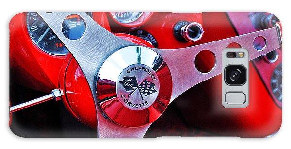 Chevy Corvettte Steering Wheel Galaxy Case