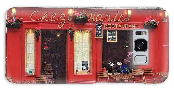 Chez Marie Restaurant, Montmartre, Paris Galaxy Case
