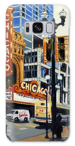 Chicago - The Chicago Theater Galaxy Case