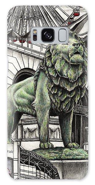 Chicago Art Institute Lion Galaxy Case