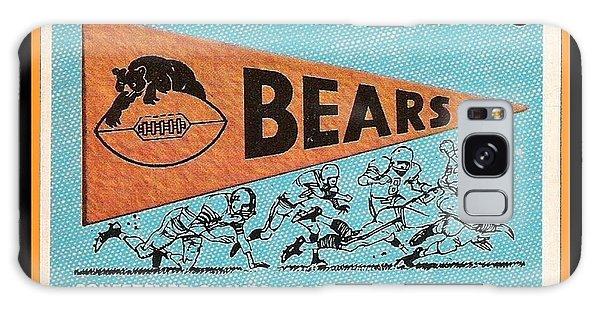 Vintage Chicago Galaxy Case - Chicago Bears 1959 Pennant Card by Paul Van Scott