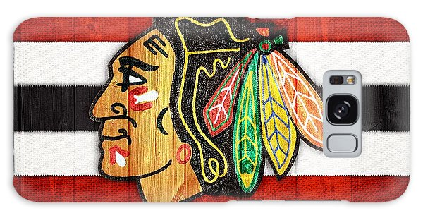 Chicago Blackhawks Barn Door Galaxy Case