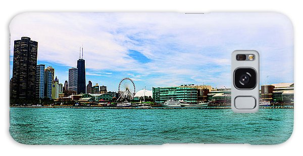 Chicago Blue Galaxy Case