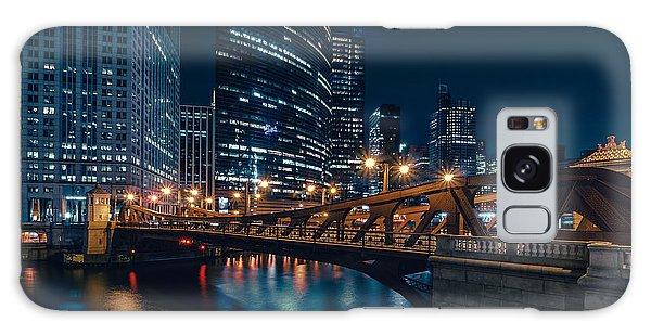 Chicago Blue II Galaxy Case