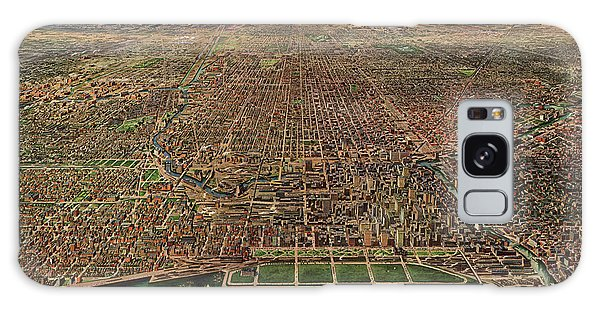 Vintage Chicago Galaxy Case - Chicago, Central Business Section by Arno Reincke