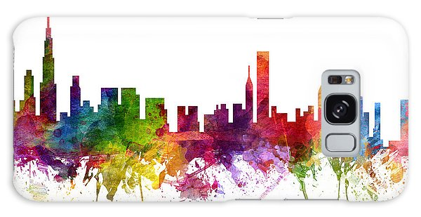 Colours Galaxy Case - Chicago Cityscape 06 by Aged Pixel