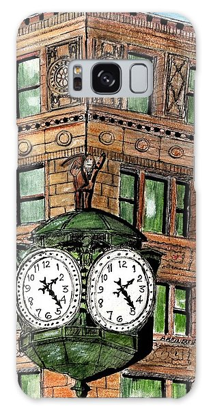 Chicago Clock Galaxy Case
