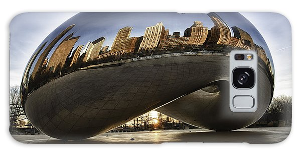 Chicago Cloud Gate At Sunrise Galaxy Case
