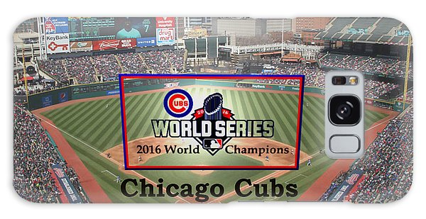 Chicago Cubs - 2016 World Series Champions Galaxy Case