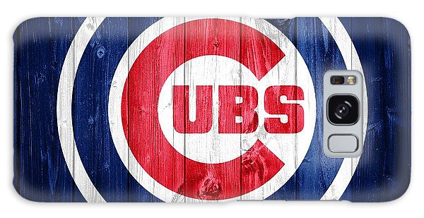 Chicago Cubs Barn Door Galaxy Case