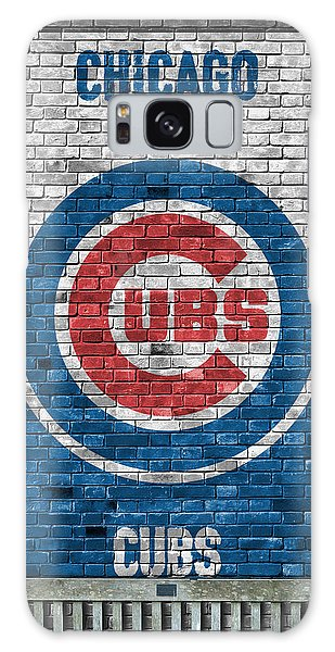Chicago Cubs Brick Wall Galaxy Case