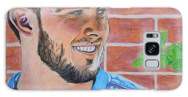 Chicago Cubs Kris Bryant Portrait Galaxy Case
