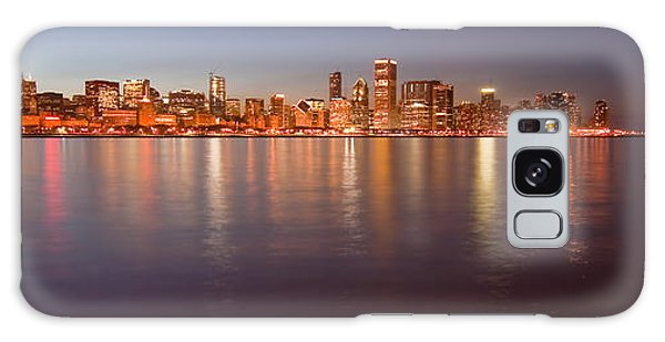 Chicago Dusk Skyline Panoramic  Galaxy Case
