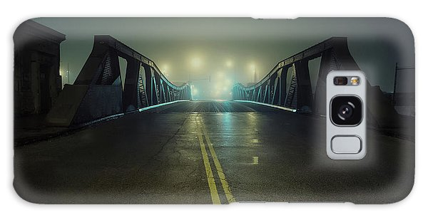 Old Road Galaxy Case - Chicago Fog by Bruno Passigatti