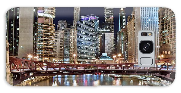 Chicago Full City View Galaxy Case