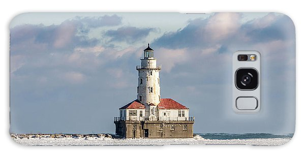 Chicago Harbor Lighthouse Galaxy Case