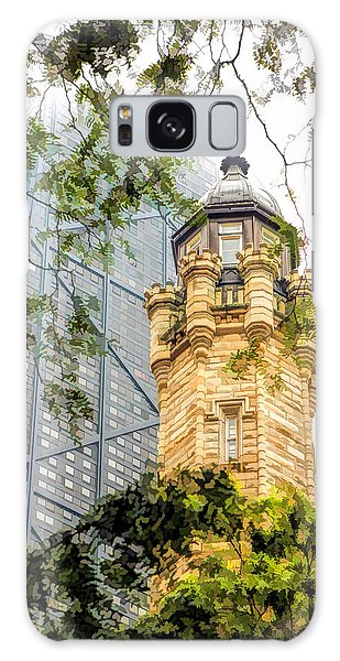 Chicago Historic Water Tower Fog Galaxy Case