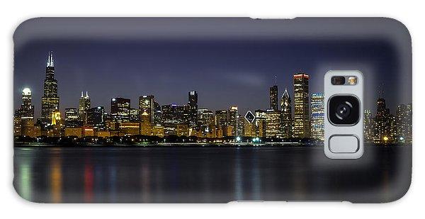 Chicago In Blue Galaxy Case