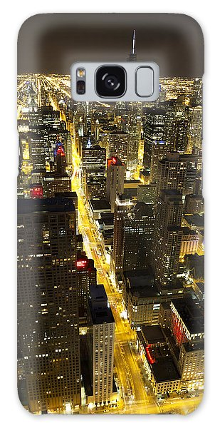 Chicago Is Always Alive Galaxy Case by Shawn Everhart