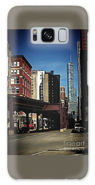 Chicago L Between The Walls Galaxy Case