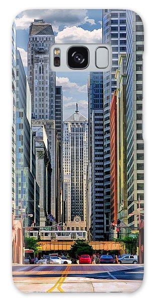 Chicago Lasalle Street Galaxy Case