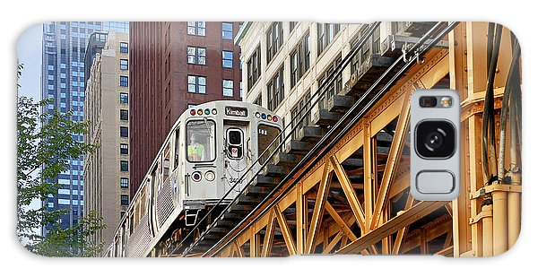 Chicago Loop 'l' Galaxy Case