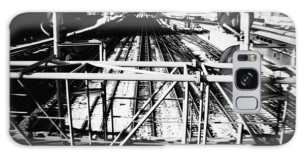 Galaxy Case featuring the photograph Chicago Railroad Yard by Kyle Hanson