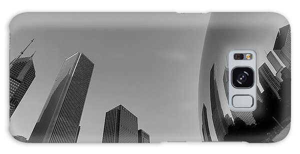Chicago Reflections Galaxy Case