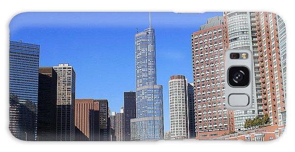 Chicago River Galaxy Case