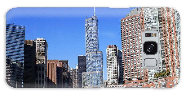 Chicago River Galaxy Case by Milena Ilieva