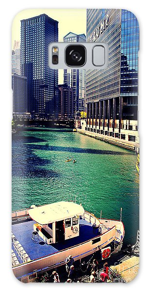 City Of Chicago - River Tour Galaxy Case