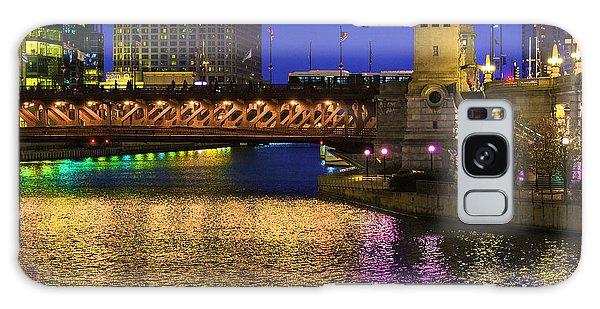 Chicago River Ver2 Galaxy Case