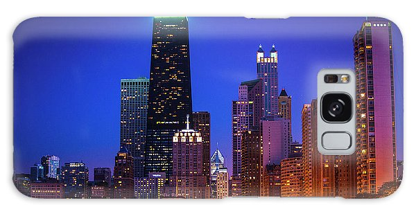 Chicago Shoreline Skyscrapers Galaxy Case