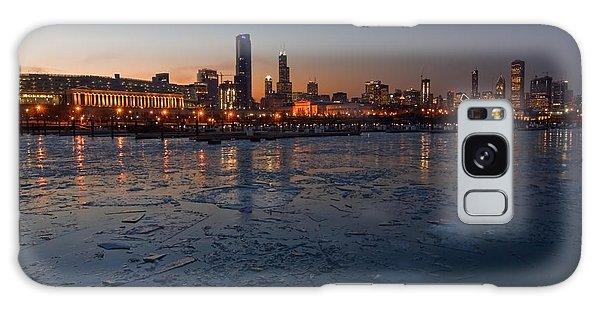 Chicago Skyline At Dusk Galaxy S8 Case