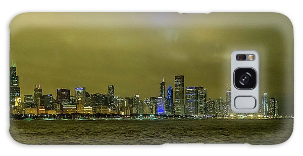 Galaxy Case featuring the photograph Chicago Skyline by Matthew Chapman