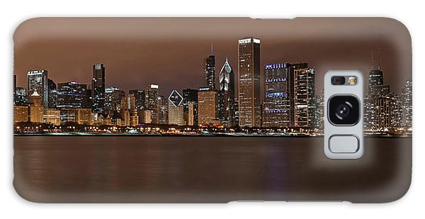 Chicago Skyline Panorama Galaxy Case