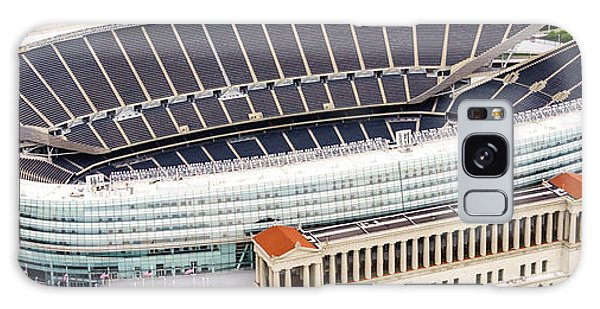 Chicago Soldier Field Aerial Photo Galaxy Case