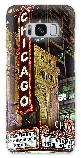 Chicago Theater Aglow Galaxy Case