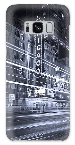 Chicago Theater Marquee B And W Galaxy S8 Case
