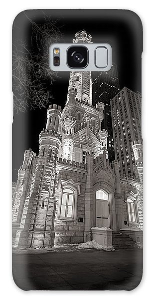 Chicago Water Tower Galaxy Case