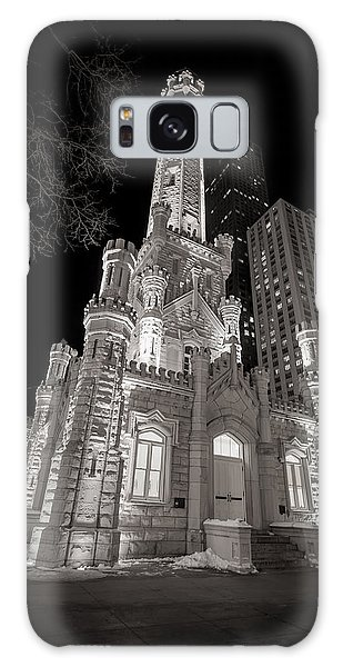 Chicago Art Galaxy Case - Chicago Water Tower by Adam Romanowicz