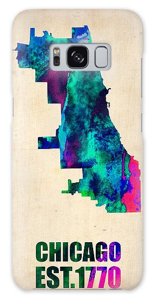 Grant Park Galaxy Case - Chicago Watercolor Map by Naxart Studio