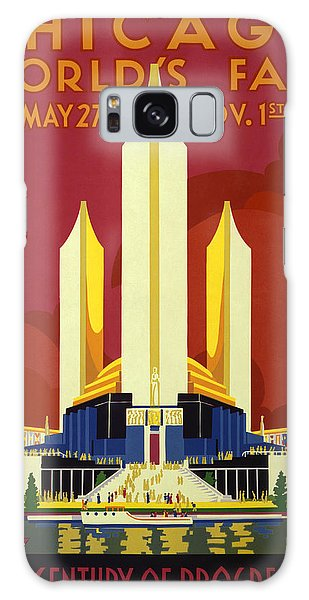 Vintage Chicago Galaxy Case - Chicago World's Fair - 1933 by War Is Hell Store
