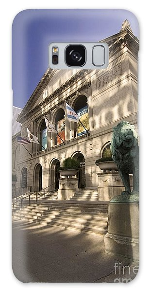 Chicago Art Galaxy Case - Chicago's Art Institute In Reflected Light. by Sven Brogren