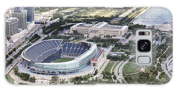 Chicago's Soldier Field Galaxy Case by Adam Romanowicz