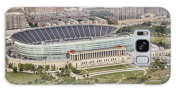 Chicago's Soldier Field Aerial Galaxy Case by Adam Romanowicz
