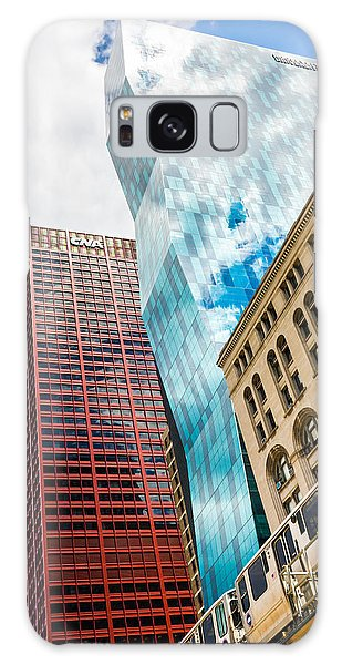 Chicago's South Wabash Avenue  Galaxy Case by Semmick Photo